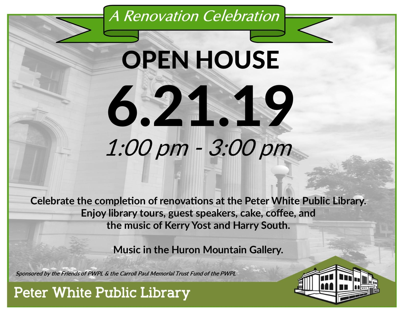 Celebration Scheduled for Library Building Project