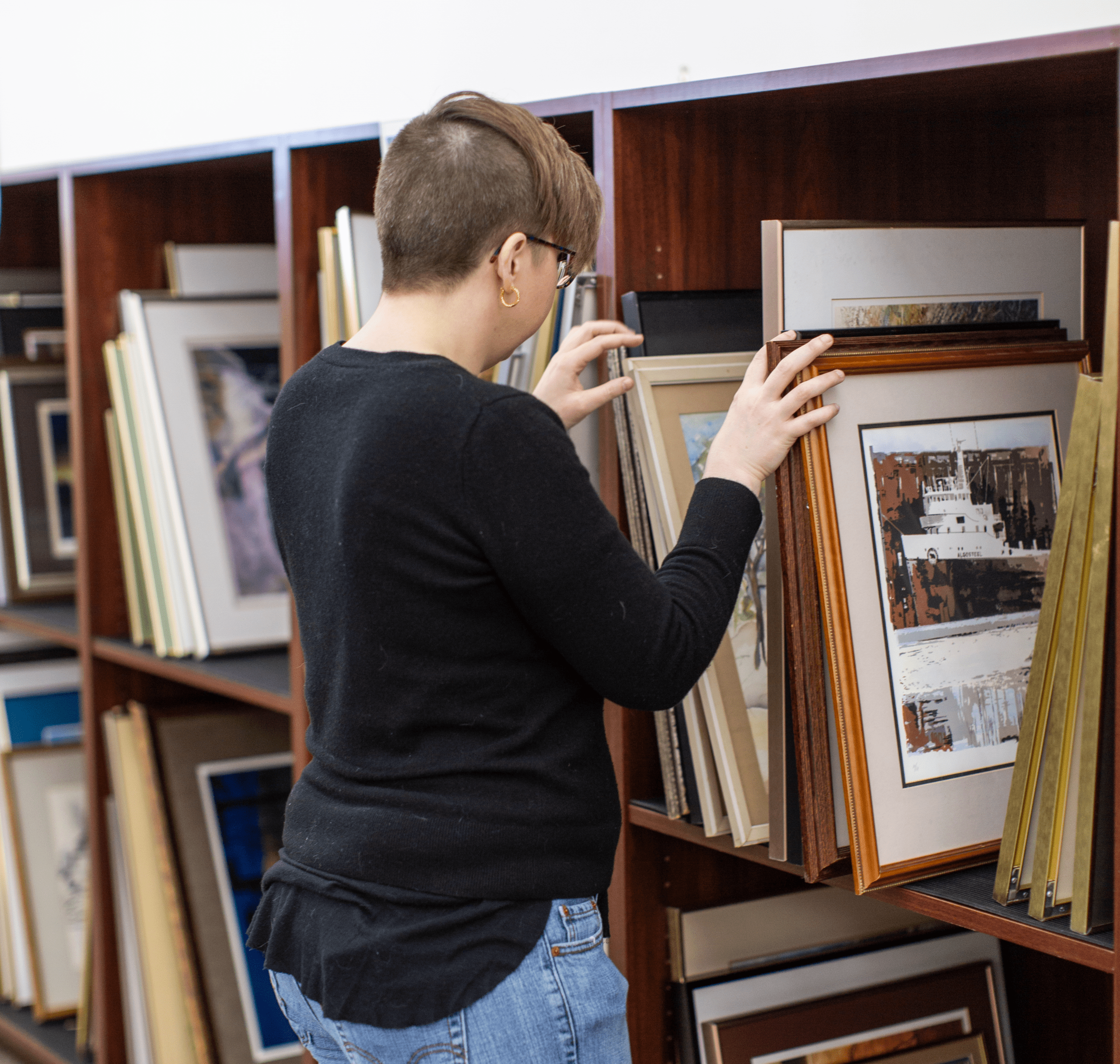 Circulating Art Collection Gets New Storage