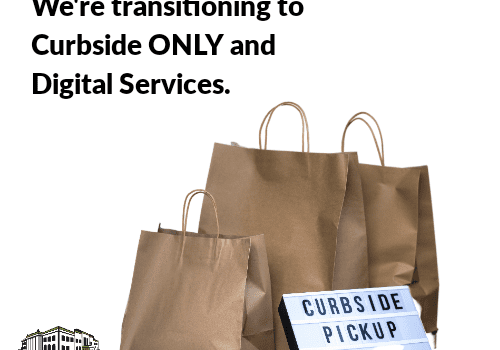 PWPL Transitions to Curbside Only Service