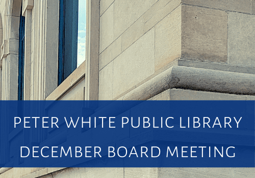 December PWPL Board Meeting