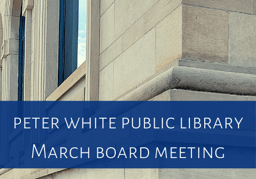 March PWPL Board of Trustees Meeting